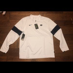 Men's size Large Penn State Sideline quarter zip